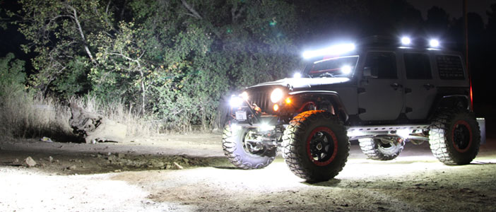 Fari Off Road Led 4x4