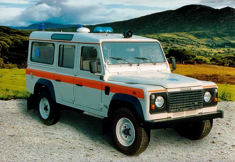 Defender 110 Ambulance