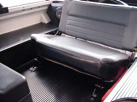 NAS D90 ST Rear Bench Seat